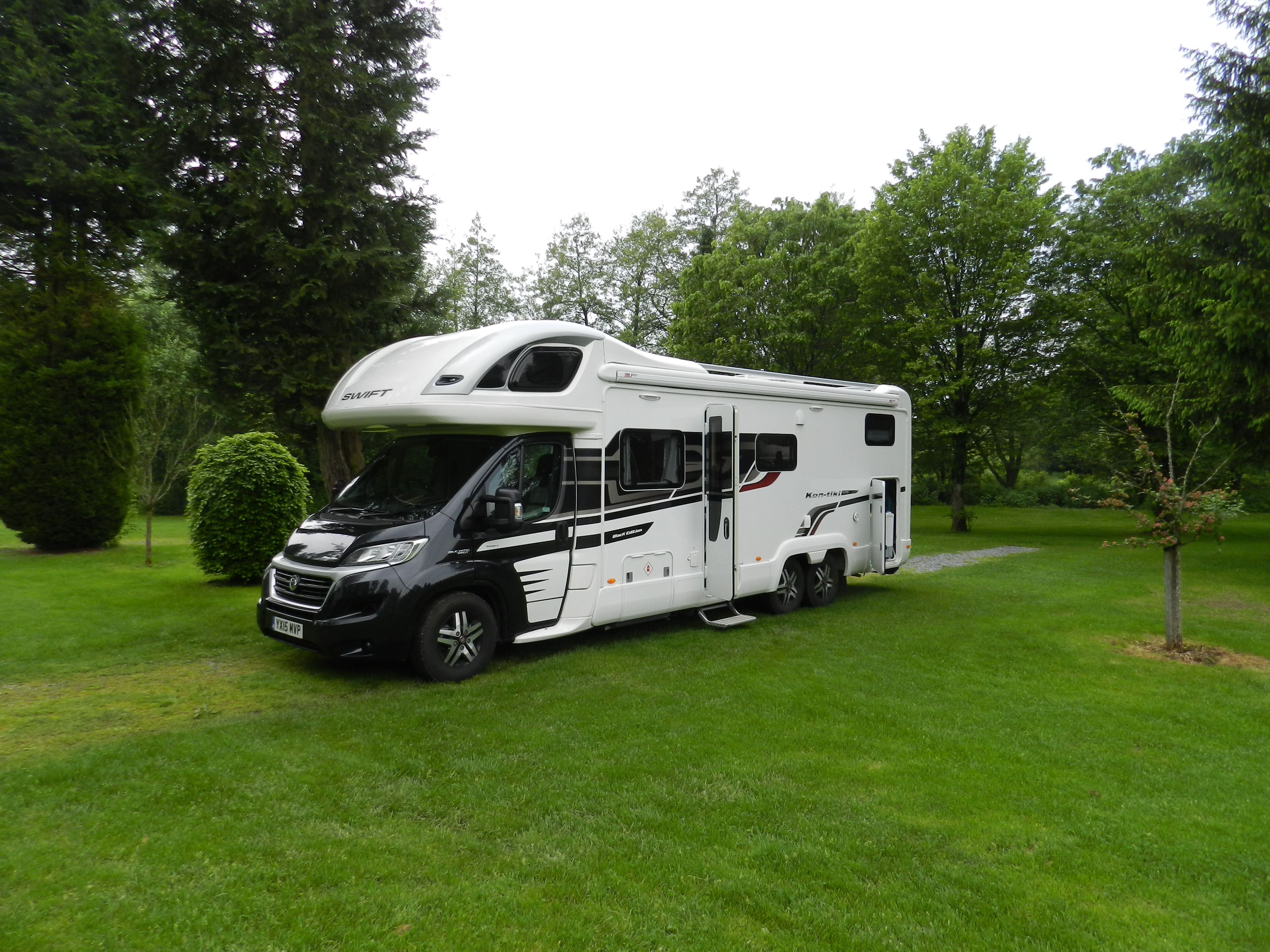 swift kontiki black edition review one year on motorhome voyager